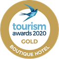 Tourism Awards 2020 Boutique Hotel GOLD